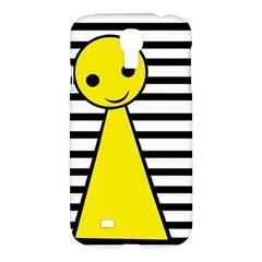Yellow Pawn Samsung Galaxy S4 I9500/i9505 Hardshell Case by Valentinaart
