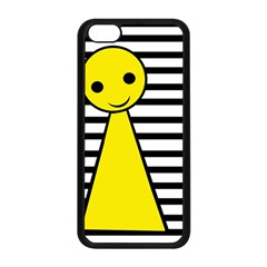 Yellow Pawn Apple Iphone 5c Seamless Case (black) by Valentinaart