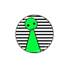 Green Pawn Hat Clip Ball Marker (10 Pack) by Valentinaart