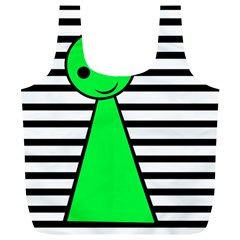 Green pawn Full Print Recycle Bags (L)