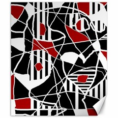Artistic Abstraction Canvas 20  X 24   by Valentinaart