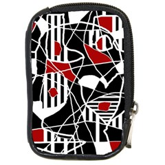 Artistic Abstraction Compact Camera Cases by Valentinaart