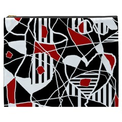 Artistic Abstraction Cosmetic Bag (xxxl)  by Valentinaart