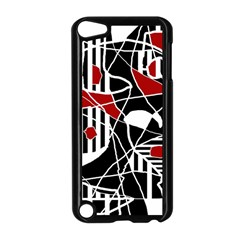 Artistic Abstraction Apple Ipod Touch 5 Case (black) by Valentinaart