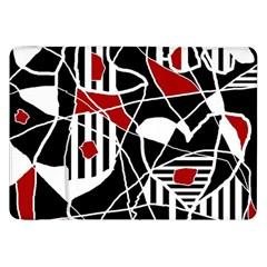 Artistic Abstraction Samsung Galaxy Tab 8 9  P7300 Flip Case by Valentinaart