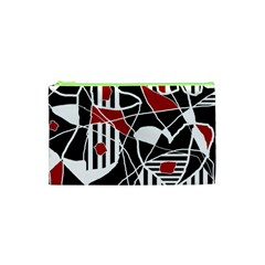Artistic Abstraction Cosmetic Bag (xs) by Valentinaart