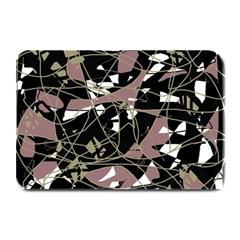 Artistic abstract pattern Plate Mats by Valentinaart