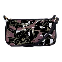 Artistic Abstract Pattern Shoulder Clutch Bags by Valentinaart