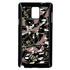 Artistic Abstract Pattern Samsung Galaxy Note 4 Case (black) by Valentinaart
