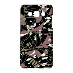Artistic Abstract Pattern Samsung Galaxy A5 Hardshell Case  by Valentinaart