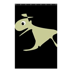 Kangaroo Shower Curtain 48  X 72  (small)  by Valentinaart