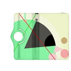 Decorative Abstract Design Kindle Fire Hdx 8 9  Flip 360 Case by Valentinaart
