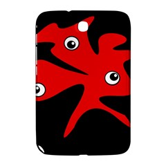 Red Amoeba Samsung Galaxy Note 8 0 N5100 Hardshell Case  by Valentinaart
