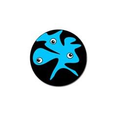Blue Amoeba Golf Ball Marker (10 Pack) by Valentinaart