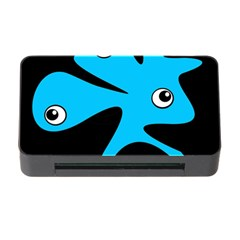 Blue Amoeba Memory Card Reader With Cf by Valentinaart