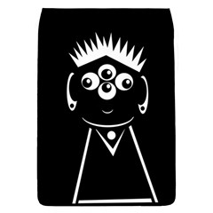 Black And White Voodoo Man Flap Covers (l)  by Valentinaart