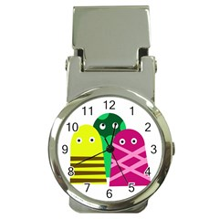 Three Mosters Money Clip Watches by Valentinaart