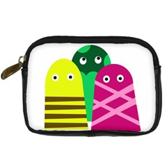 Three Mosters Digital Camera Cases by Valentinaart