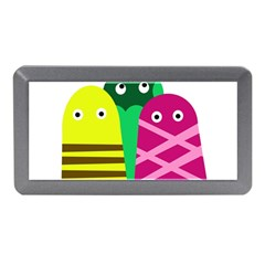 Three Mosters Memory Card Reader (mini) by Valentinaart