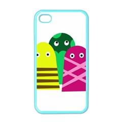 Three Mosters Apple Iphone 4 Case (color) by Valentinaart