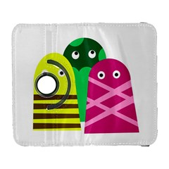 Three Mosters Samsung Galaxy S  Iii Flip 360 Case by Valentinaart