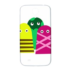 Three Mosters Samsung Galaxy S4 I9500/i9505  Hardshell Back Case by Valentinaart