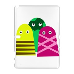 Three Mosters Samsung Galaxy Note 10 1 (p600) Hardshell Case by Valentinaart