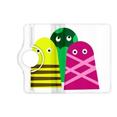 Three Mosters Kindle Fire Hd (2013) Flip 360 Case by Valentinaart