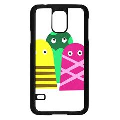 Three Mosters Samsung Galaxy S5 Case (black) by Valentinaart