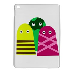 Three Mosters Ipad Air 2 Hardshell Cases by Valentinaart
