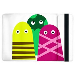 Three Mosters Ipad Air 2 Flip by Valentinaart