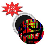 Colorful Abstraction 1 75  Magnets (100 Pack)  by Valentinaart
