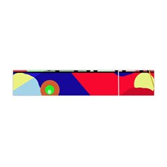 Abstract Train Flano Scarf (mini) by Valentinaart