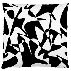 Black And White Elegant Pattern Standard Flano Cushion Case (one Side) by Valentinaart