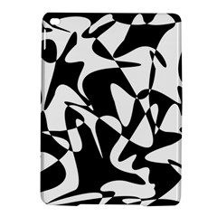 Black And White Elegant Pattern Ipad Air 2 Hardshell Cases