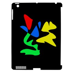 Colorful Abstraction Apple Ipad 3/4 Hardshell Case (compatible With Smart Cover) by Valentinaart