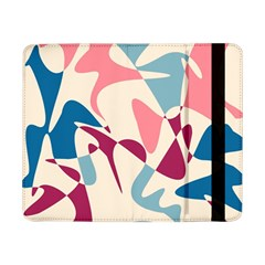 Blue, pink and purple pattern Samsung Galaxy Tab Pro 8.4  Flip Case by Valentinaart