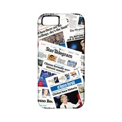 Hillary 2016 Historic Newspapers Apple Iphone 5 Classic Hardshell Case (pc+silicone) by uspoliticalhistory