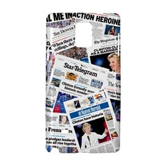 Hillary 2016 Historic Newspapers Samsung Galaxy Note 4 Hardshell Case by uspoliticalhistory