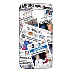 Hillary 2016 Historic Newspapers Galaxy S6 by uspoliticalhistory
