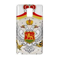 Coat Of Arms Of Kingdom Of Montenegro, 1910 1918 Samsung Galaxy Note 4 Hardshell Case by abbeyz71