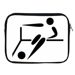 Futsal Pictogram Apple iPad 2/3/4 Zipper Cases by abbeyz71
