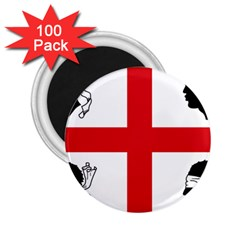 Traditional Flag Of Sardinia  2.25  Magnets (100 pack)  by abbeyz71