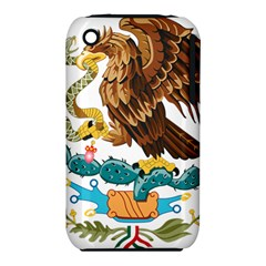 Coat Of Arms Of Mexico  Apple Iphone 3g/3gs Hardshell Case (pc+silicone) by abbeyz71