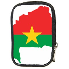 Flag Map Of Burkina Faso  Compact Camera Cases by abbeyz71