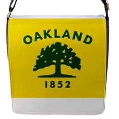 Flag Of Oakland, California Flap Messenger Bag (S)