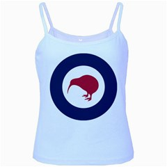 Roundel Of New Zealand Air Force Baby Blue Spaghetti Tank by abbeyz71