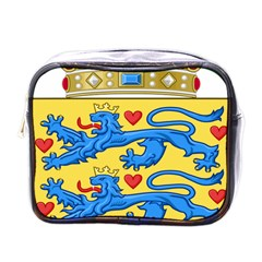 National Coat Of Arms Of Denmark Mini Toiletries Bags by abbeyz71