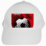 Crest Of The Albanian National Football Team White Cap