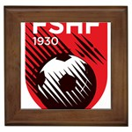 Crest Of The Albanian National Football Team Framed Tiles